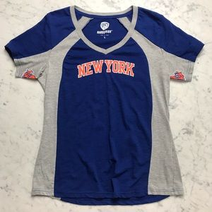 Hands High NBA New York Knicks V Neck Shirt